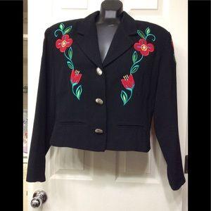 Studio West flowered jacket (88)